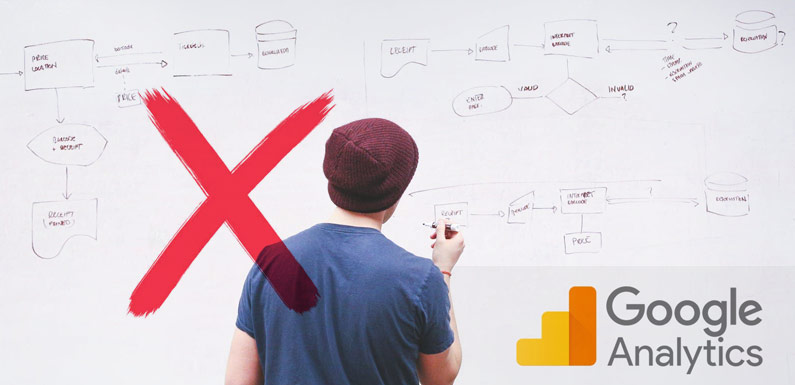 Using Google Analytics (GA) for product analysis is a bad idea